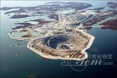 全球矿业巨头欲合并澳元的加拿大钻石矿