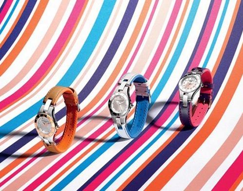 时尚女性魅力 名士灵霓可更换表带系列