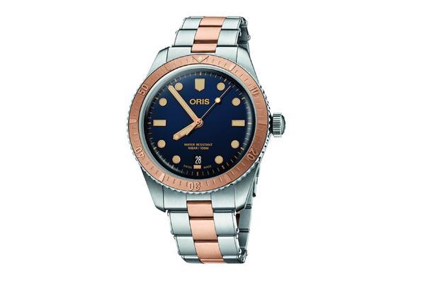 手表鉴赏:豪利时65周年青铜浮雕表圈复刻版潜水手表