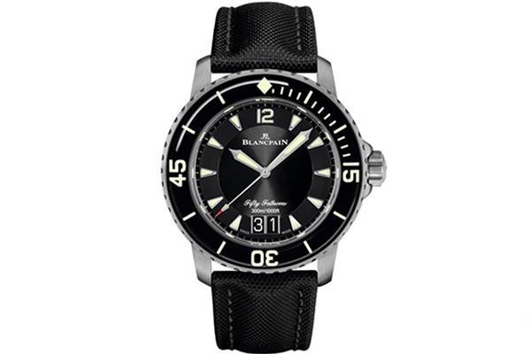 深海之王:宝珀五十噚Blancpain Fifty Fathoms系列潜水手表