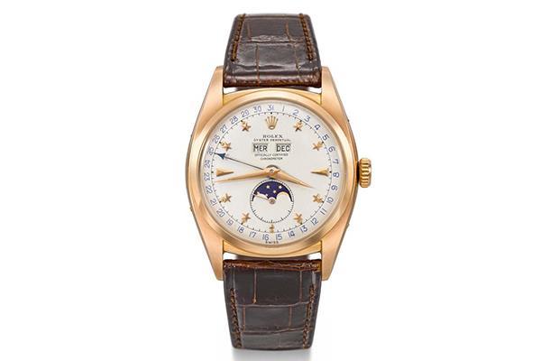 手表鉴赏:劳力士Ref.6062不锈钢全历手表