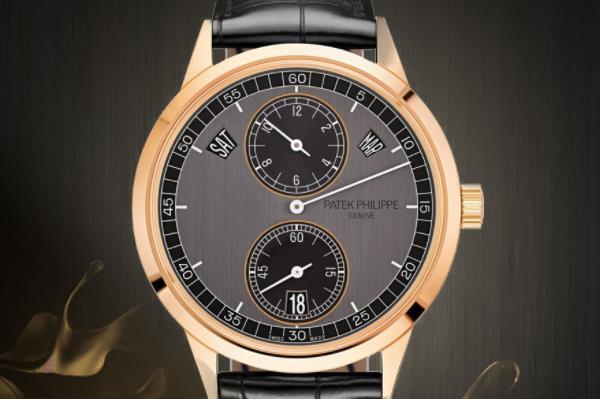 精准走时专利年历 百达翡丽高颜值复杂计时手表