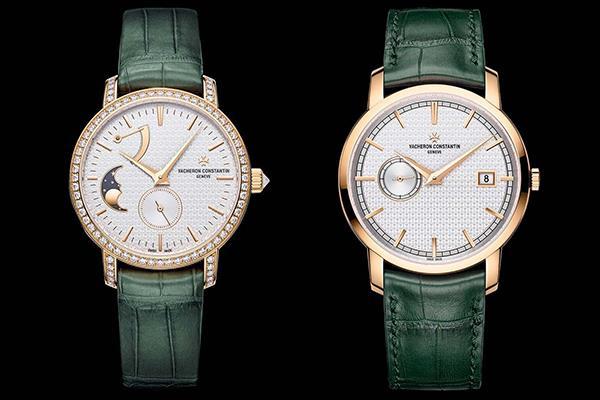 江诗丹顿推出二款传袭系列哈罗德特别版限量手表