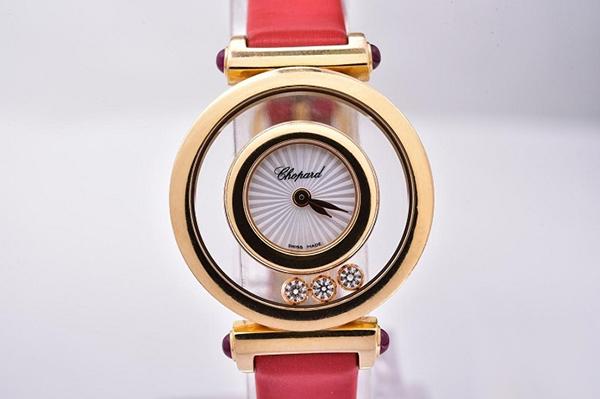 萧邦2019最新款HAPPY DIAMONDS系列204780-5201手表回收多少钱