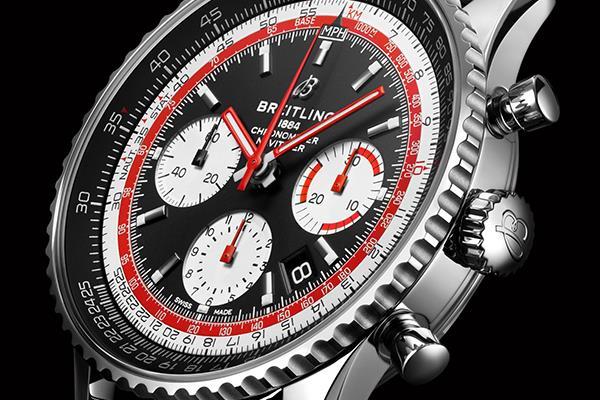 百年灵全新胶囊系列计时手表