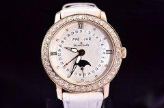 功能和颜值并重 宝珀3663-2954-55B女款腕表鉴赏