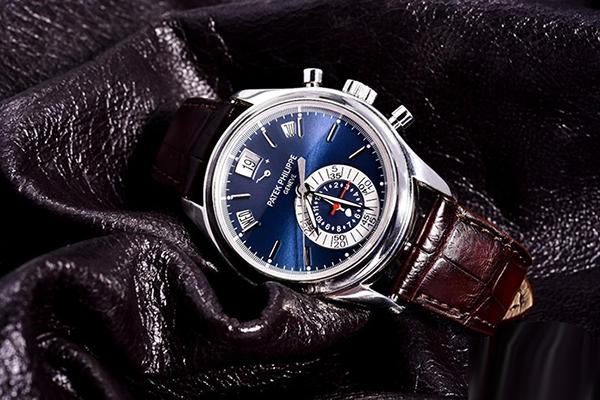 百达翡丽复杂功能计时系列5960P015铂金手表鉴赏