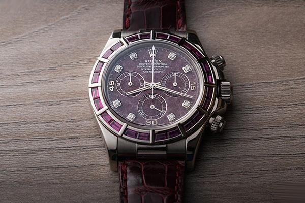 最新款石榴石盘劳力士Ref.116589迪通拿手表
