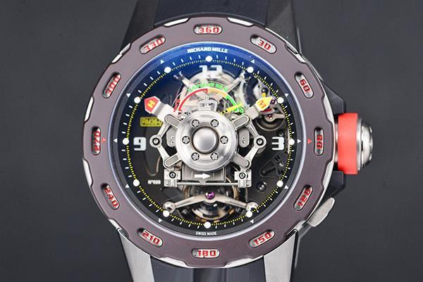 黑科技 理查德米勒RM3601重力测量手表