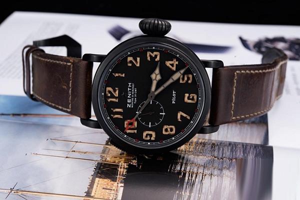 复古也能玩时尚 真力时手表飞行员系列96.2431.693/21.C738鉴赏