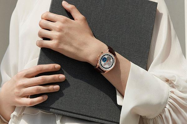 真力时甄选个性女款手表 完美彰显女性魅力