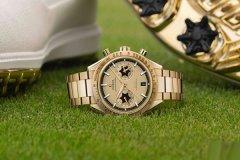 欧米茄为高尔夫球星麦克罗伊推出特别版超霸手表