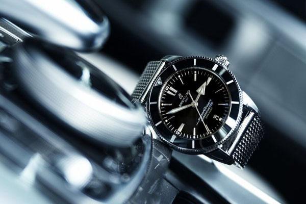 超专业潜水手表 百年灵海洋文化系列二代手表