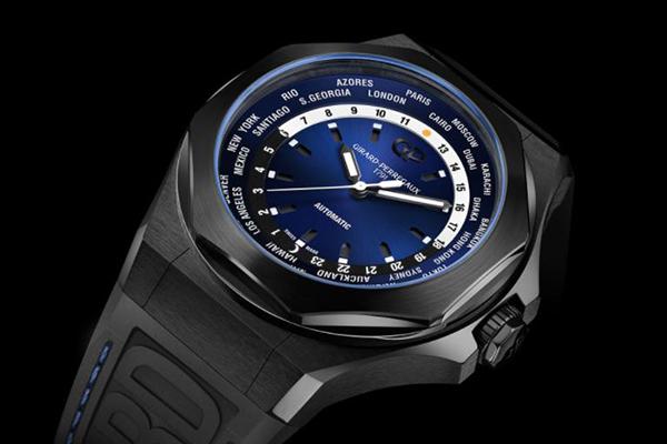 如此酷炫的手表 GP芝柏表LAUREATO系列手表鉴赏