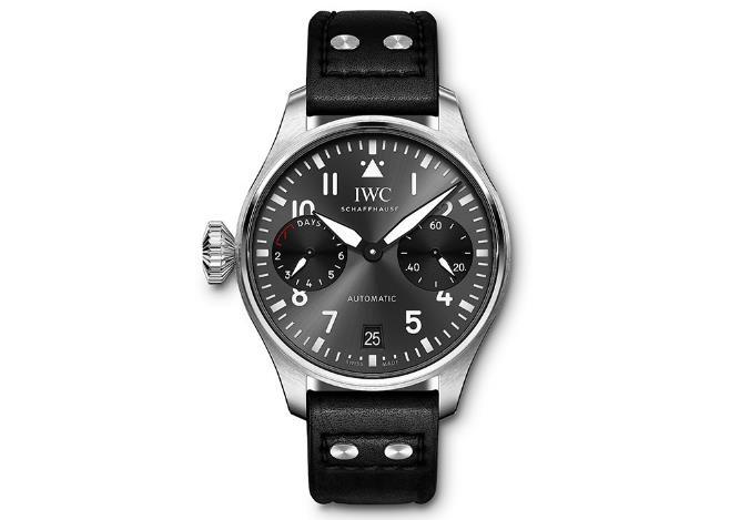 IWC万国推出全新飞行员系列左表冠型手表