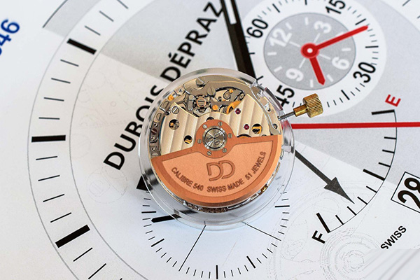 爱彼手表计时模块专家Dubois-Dépraz公司