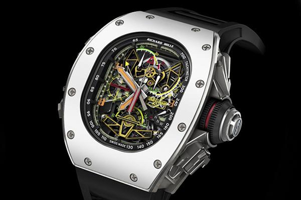 理查德米勒陀飞轮双秒追针系列RM 5002手表鉴赏