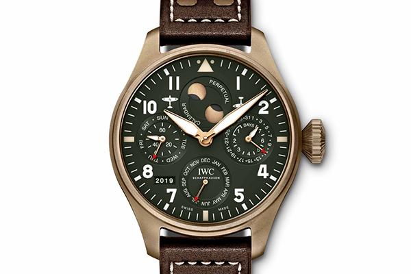 IWC万国柏涛菲诺系列自动手表的深绿奇境