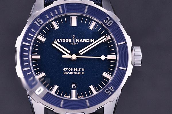 雅典表Diver blue shark蓝鲨潜水表品鉴