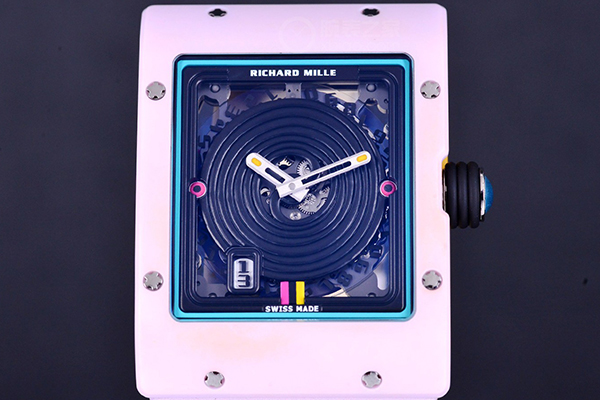 理查德米勒也有少女心Sweets系列粉色手表鉴赏