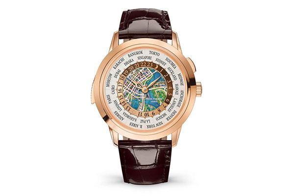紐約鐘表展百達翡麗推出世界時間型三問Ref.5531R010手表