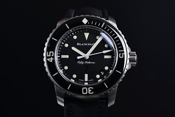 向潜水蛙人致敬 宝珀五十噚全新限量纪念型手表