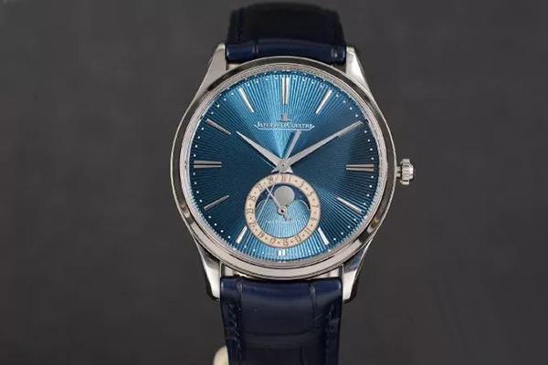 积家大师超博系列手表带你领略午夜蓝的魅力