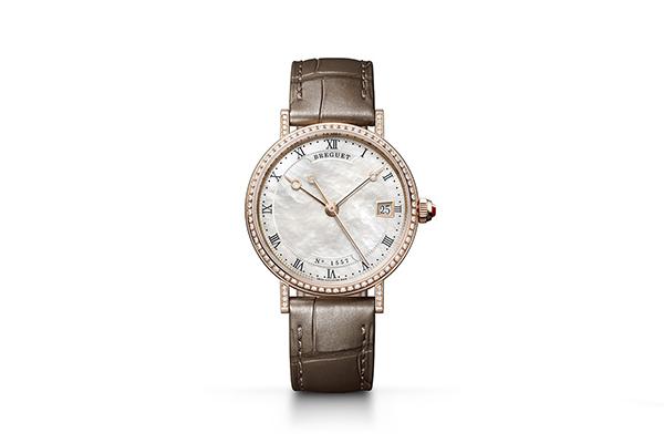 展现女士优雅风范 宝玑经典Classique系列珍珠手表