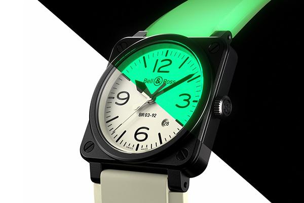 柏萊士最新BR 0392 Full Lum夜光熒光手表推薦