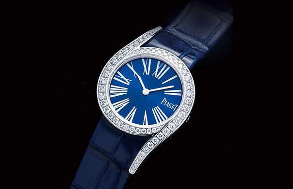 靛藍閃耀絕代風華 伯爵Limelight Gala手表